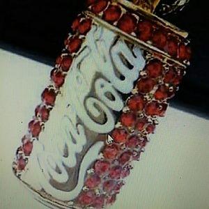 Betsey Johnson Coca Cola necklace